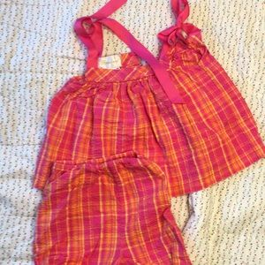 Girls 12 month Strasburg outfit